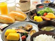 ホテル内1階【和食レストラン/神楽】和食バイキングで朝から元気に朝食を♪