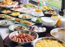 朝食イメージ一日のスタートは自慢の朝食ブッフェから、朝食営業時間6:30~9:00close