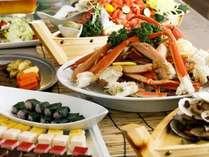 【夕食バイキング】一番人気メニューずわいがに食べ放題!