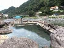 天ケ瀬温泉のシンボル☆川中混浴露天風呂「河鹿の湯」を満喫☆スタンダードプラン