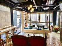 リニューアルオープンしたお茶室兼ラウンジこちらではお茶会なども開催されます。