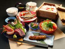 <スタンダード>島宿の味 こだわり食材の日替わり料理を堪能