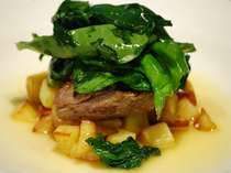【鴨・鹿のお肉など】ジビエ料理を新しいスタイルでご提供!耶馬溪の紅葉を楽しみながら食事と露天を満喫!