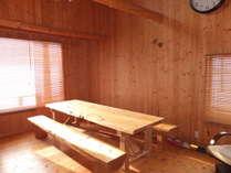 リビングの大テーブル。