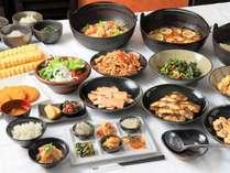 【50種類の朝食バイキング】様々な和食をご用意