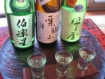 特別日本酒飲み比べ