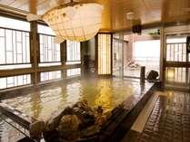◆最上階天然温泉大浴場★男性内湯★15時から翌朝10時まで