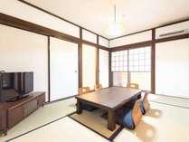 リビングルームは和室となります。家族団らんのお時間をお過ごしください。