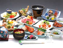 *【お食事一例】新鮮な海の幸をお楽しみください。