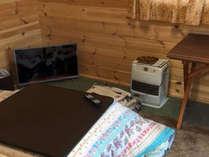 *【プチログハウス】冬季設備イメージ