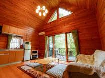 *【ログハウス/さくら亭南北】最大8名ご宿泊いただくいただくことが可能です。