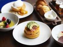 The Blue Room 洋朝食の一例 食材にこだわったシェフ自慢の卵料理をご堪能頂けます。