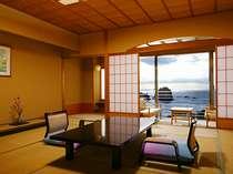 【海側和室南棟14.5畳】ワンランク上のお部屋で優雅なひと時