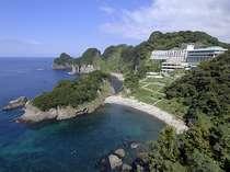 【外観】全客室から堂ヶ島の絶景を望むオーシャンビュー
