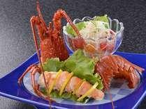 【伊勢海老サラダ】伊勢海老をボイルしてサラダで味わうお料理プランです