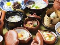 ・中国漢方薬膳懐石(夕食一例)