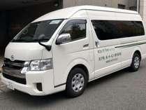 シャトルバス♪博多駅・福岡空港(朝のみ)まで送迎を行っております。