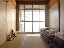 和室タイプの個室です。1日1組様限定となっております。