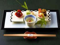 ■お食事は地元の素材を活かした上品な仕上がり
