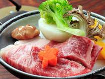大人気の『上州牛陶板焼き』