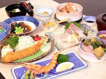 ≪潮風御膳≫海眺レストランで獲れたて魚介類に舌鼓