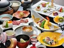 5つの美味食材を活かした料理が揃い踏みの5大グルメ会席(写真は秋版のイメージ)