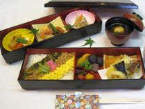 地元佐賀産の食材を使ったお弁当をご用意(写真はイメージです)