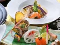 5大グルメ会席の料理の一例(季節ごとに食材・料理は変わります。写真はイメージです。)