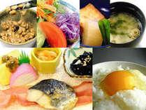 ■朝食:一日の元気の源は朝食から!手作りメインのメニューが充実!