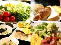 ■朝食:和洋各種メニューはおふくろの味!手作りメイン!