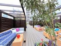 ■屋上ガーデン(昼)