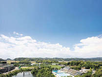 南国高知の青空と緑あふれる公園