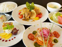 選べるスタンダードプランの洋食ディナー