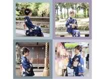 奈良の町を着物で散策♪