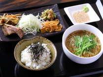 【朝食】ラーメン定食