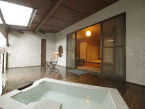 露天風呂付客室「白妙」