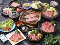 《食べ放題》うま味が凝縮!ステーキ&とろけるすき焼※一例