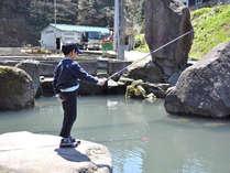 【いわな釣り体験】選べるメインの創作基本懐石と追加の一品~華山オリジナル~盛夏(7/18~8/31)