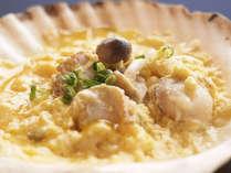 朝食バイキングにて『ほたての貝焼き味噌』青森の郷土料理をご用意しております!!