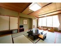 【本館36平米和室、夕・朝食付きプラン】☆ゆったり和室でお過ごし下さい☆