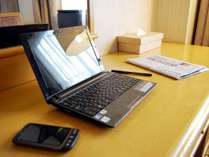 Wi-Fi & 有線LANダブルアクセス対応
