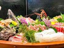地魚のお刺身 舟盛り