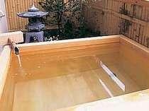 全て趣がことなる露天風呂付き客室(一例)