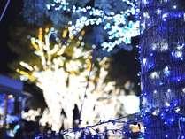【期間限定】●榛名湖イルミネーションを楽しむ1泊2食!●湖面にゆれるファンタジックな光の数々♪