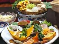 有機野菜と季節の食材を手間暇かけた絶妙な味付けでご賞味頂く和洋会席♪