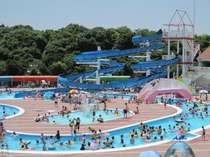 【屋外プール】2013年7月13日〜2013年9月1日まで営業!※7月16日〜7月19日はお休みです。