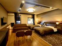 露天風呂付きツインルーム(ベッド幅1,200)