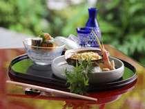 【料理】旬の地元の食材を使った夏のお料理(一例)