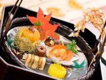 【料理】秋の前菜のイメージ