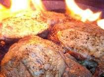 山中湖のわかさぎ釣ったの買取&前菜調理・メインは富士桜ポーク炙りグリルイタリアン
